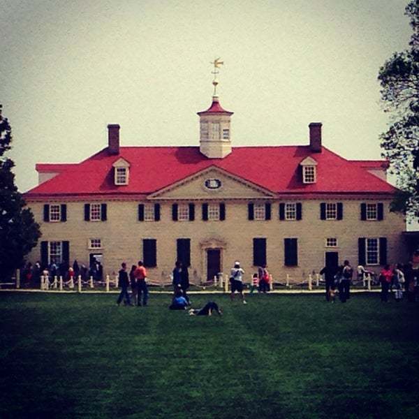 Photo taken at George Washington's Mount Vernon by Mike M. on 4/19/2014