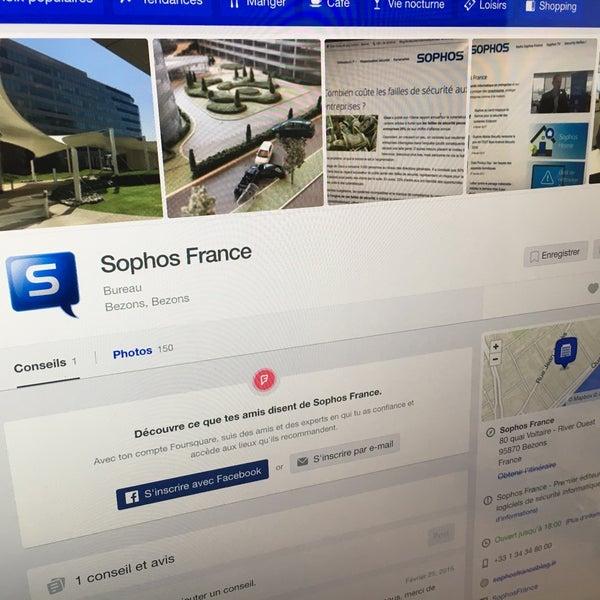 Foto scattata a Sophos France da Jérôme V. il 3/6/2017