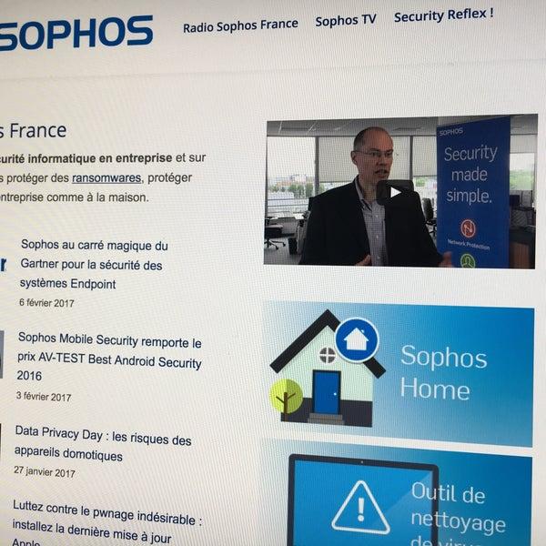 Photo taken at Sophos France by Jérôme V. on 2/13/2017