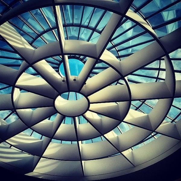Photo taken at Pinakothek der Moderne by Birgit P. on 10/20/2013