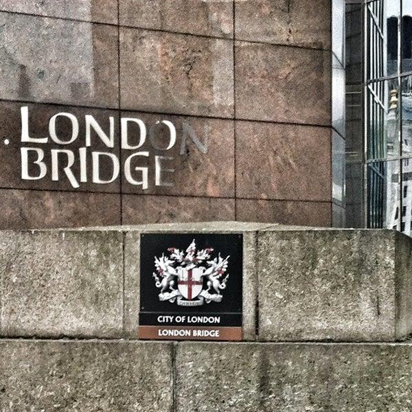 Photo taken at London Bridge by Jungalist T. on 6/10/2013