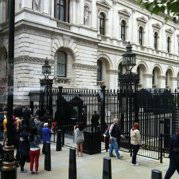 Photo taken at 10 Downing Street by Jungalist T. on 6/10/2013