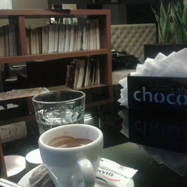 Photo taken at Choco Cafe by Alexander P. on 12/16/2013