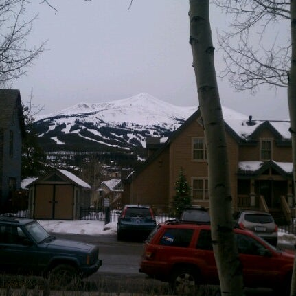 Photo taken at The Maggie at Peak 9 Base by Mark N. on 1/26/2013