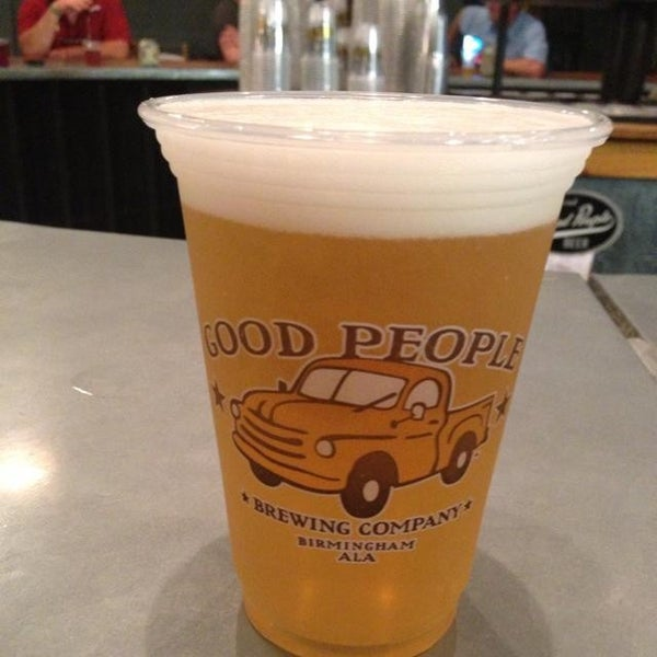 Photo taken at Good People Brewing Company by Tamara F. on 7/21/2013