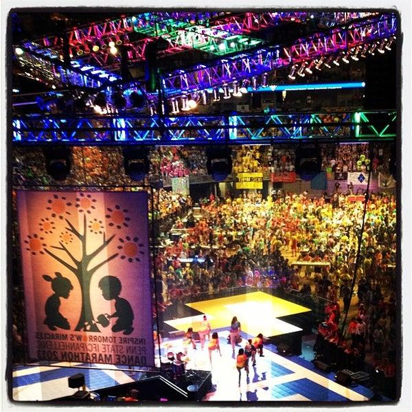 Photo taken at Bryce Jordan Center by David M. on 2/21/2013