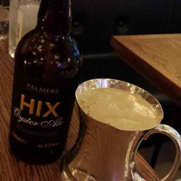 Photo taken at Hix by Andy B. on 6/23/2013