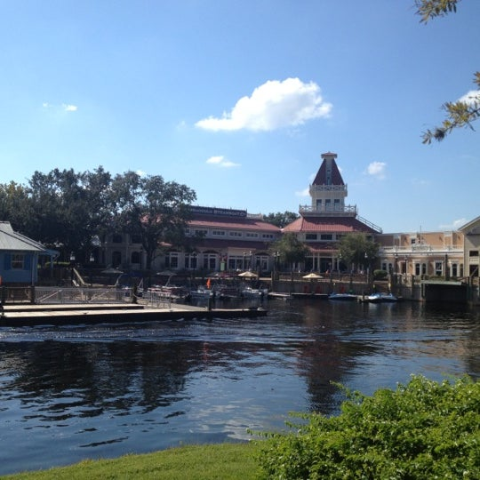 Photo taken at Disney's Port Orleans Riverside Resort by Angie A. on 11/3/2012