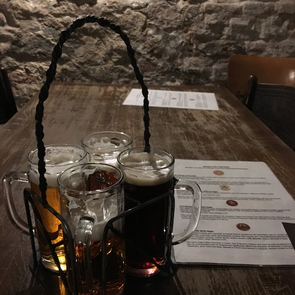Photo taken at Czech Beer Museum Prague by Maurizio M. on 1/8/2017
