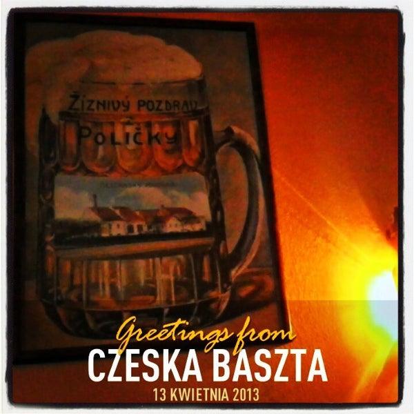 Photo taken at Czeska Baszta by Dariusz K. on 4/13/2013