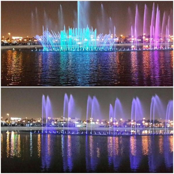 Photo taken at King Abdullah Park by Nourah on 10/12/2013