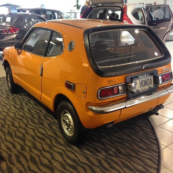 pauly honda auto dealership in libertyville