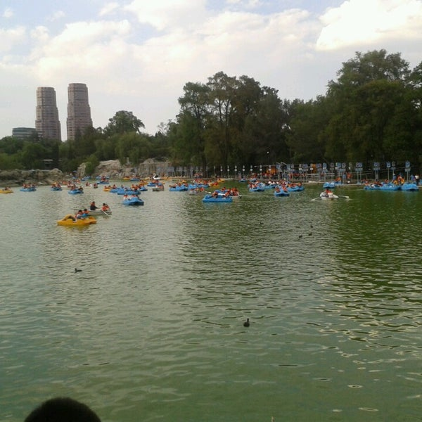 Photo taken at Bosque de Chapultepec by Jorge M. on 3/29/2013