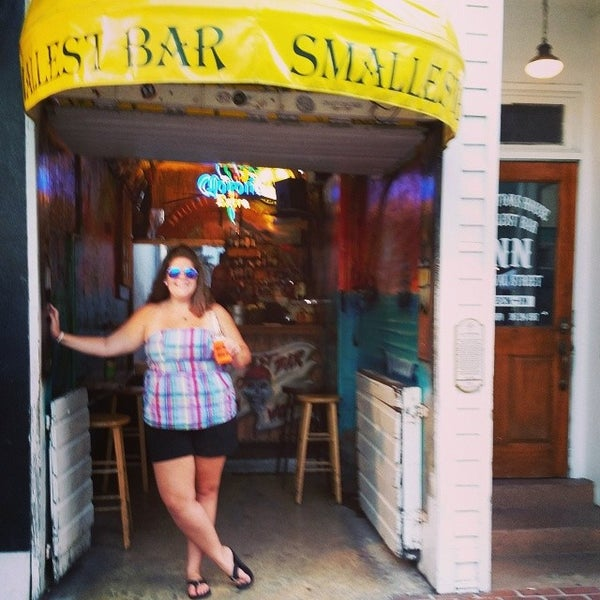Photo taken at Smallest Bar by Victoria E. on 8/9/2014