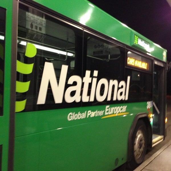 Denver international airport car rental return 14