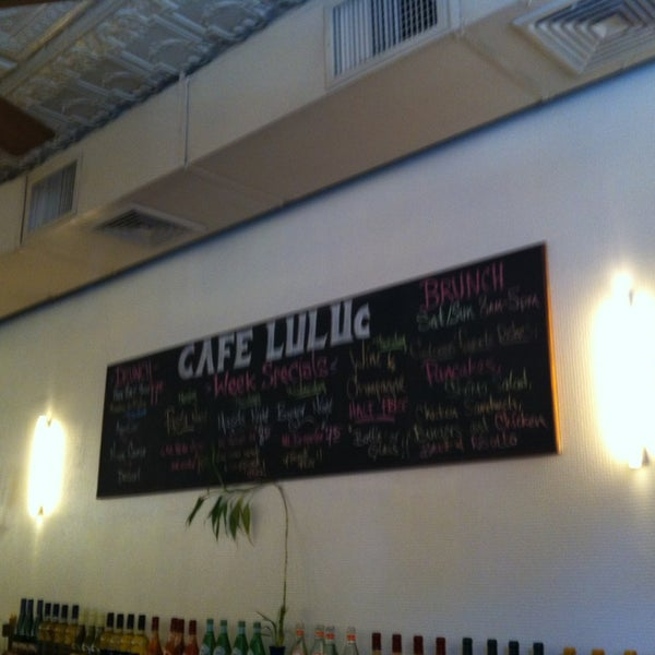 Photo taken at Cafe Luluc by Meredith G. on 1/5/2013