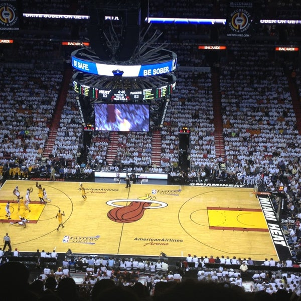 Photo taken at American Airlines Arena by Al-hanoof A. on 5/23/2013