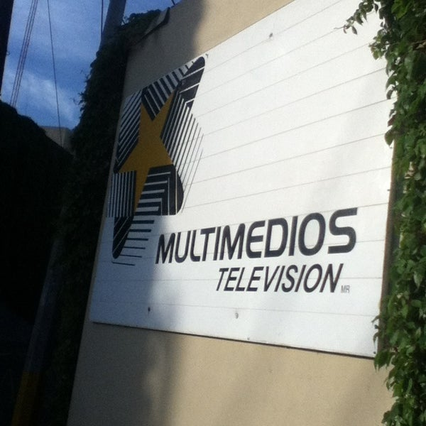 Photo taken at Multimedios Televisión by Aloondra C. on 3/22/2013