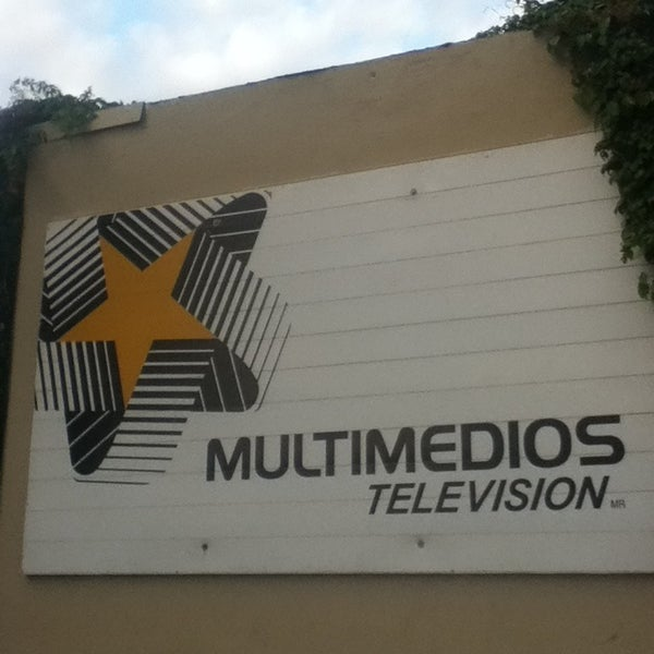 Photo taken at Multimedios Televisión by Aloondra C. on 4/19/2013