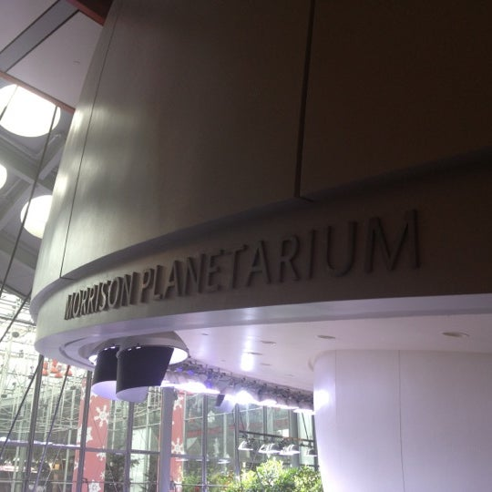 Photo taken at Morrison Planetarium by Manoel C. on 12/1/2012