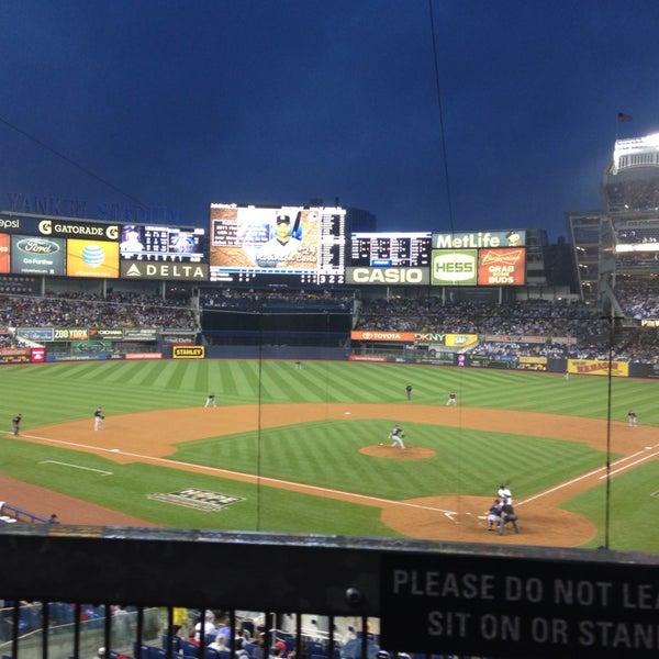 Photo taken at Yankee Stadium by Kate S. on 7/13/2013