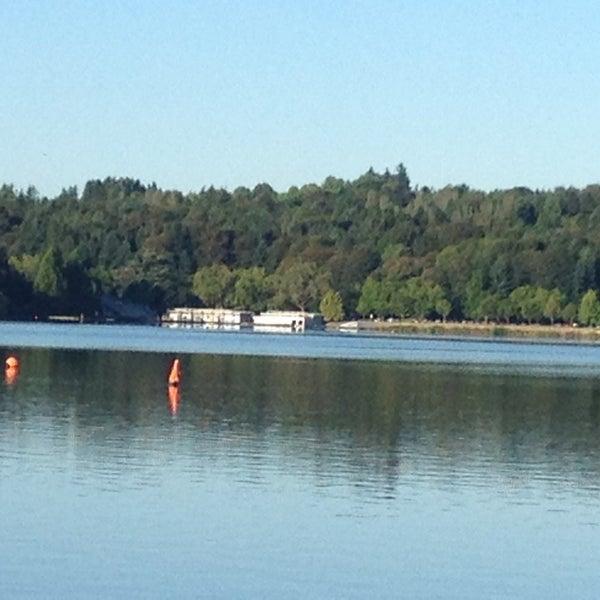 Photo taken at Green Lake Boathouse by Diane M. on 7/26/2013