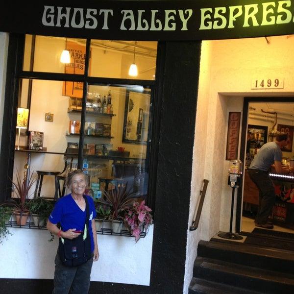 Photo taken at Ghost Alley Espresso by Loren M. on 8/6/2013