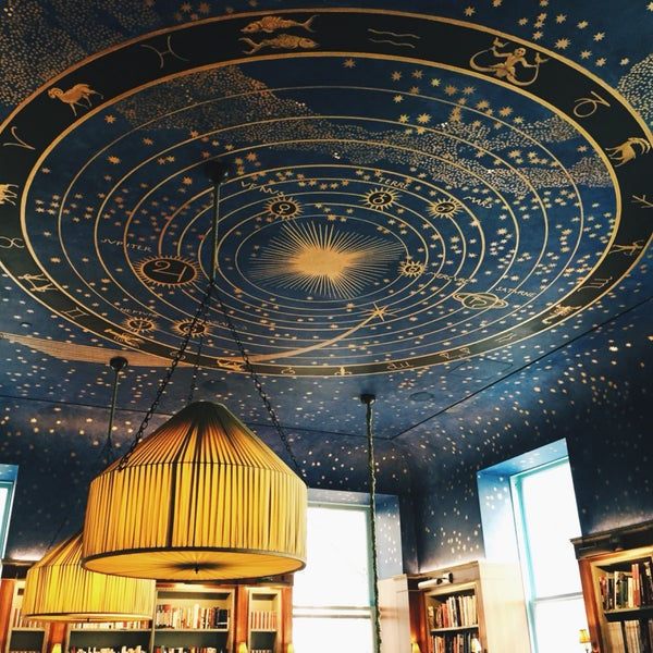 Don't forget to look up! Beautiful ceiling
