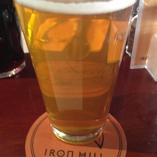 Photo taken at Iron Hill Brewery & Restaurant by Kristin C. on 5/25/2013