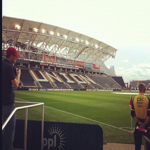 Photo taken at Talen Energy Stadium by John I. on 10/27/2012