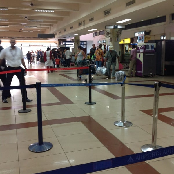 Photo taken at Goa International Airport / Dabolim Airport (GOI) by Evgeniya T. on 2/23/2013