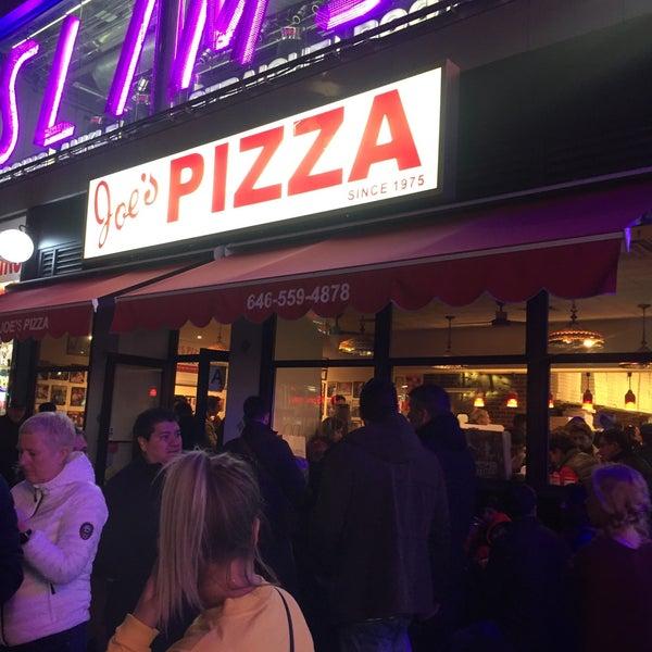 Foto tomada en Joe's Pizza por Maha el 4/23/2018