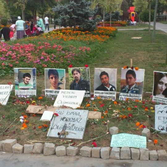 7/26/2013にMeral K.がTaksim Gezi Parkıで撮った写真