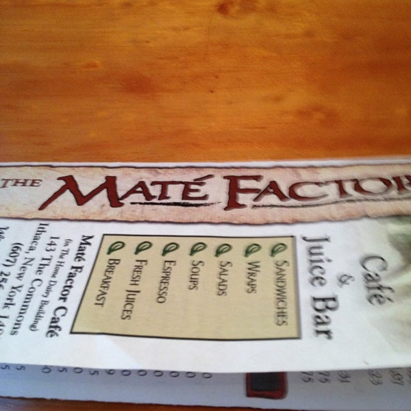 Photo taken at Mate Factor by Lisa A. T. on 3/5/2013