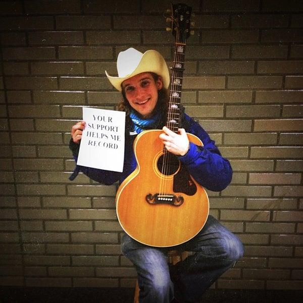 Photo taken at Civic Center/UN Plaza BART Station by Jess B. on 12/13/2012