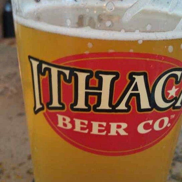 Photo taken at Ithaca Beer Co. Taproom by Todd H. on 8/14/2013