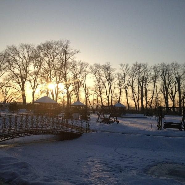 Снимок сделан в Петровский Бровар пользователем Aleksandra S. 12/31/2012