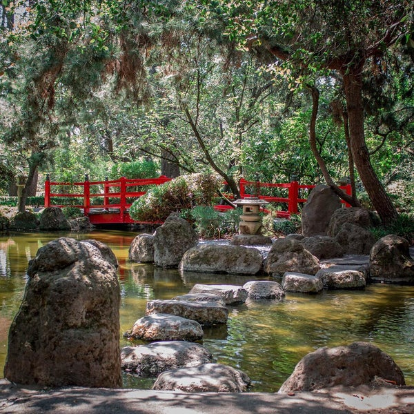 Japanese Gardens At Micke Grove Garden In Lodi