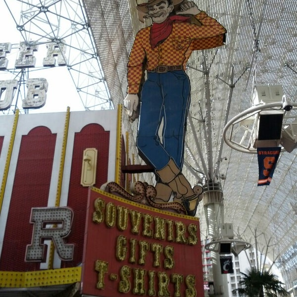 Photo taken at Fremont Street Experience by Richard F. on 3/7/2013