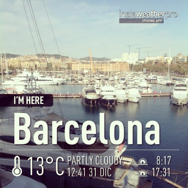 Photo taken at OneOcean Port Vell Barcelona by Marina P. on 12/31/2012