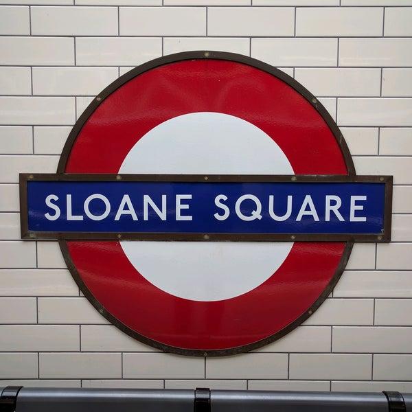 Photos At Sloane Square London Underground Station Chelsea 6