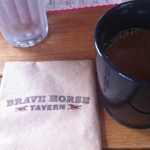 Photo taken at Brave Horse Tavern by Karen S. on 5/26/2013