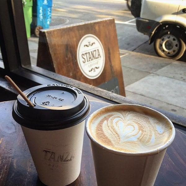 Photo taken at Stanza Coffee Bar by John B. on 8/17/2015