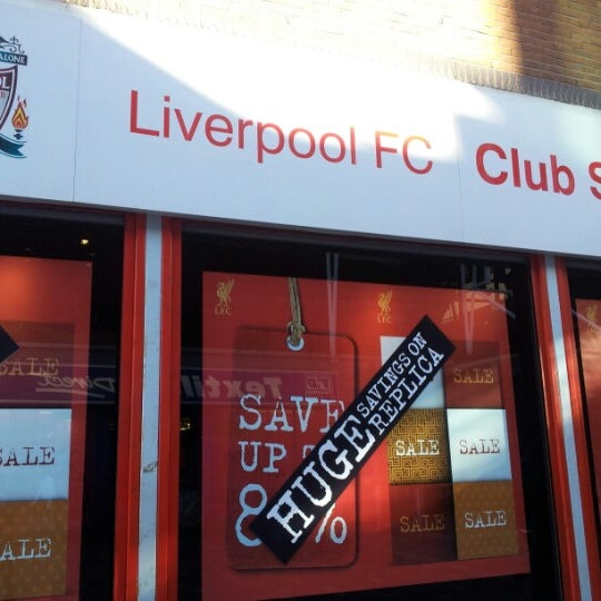 Photo taken at Liverpool FC Official Club Store by Siti Azura M. on 2/2/2013
