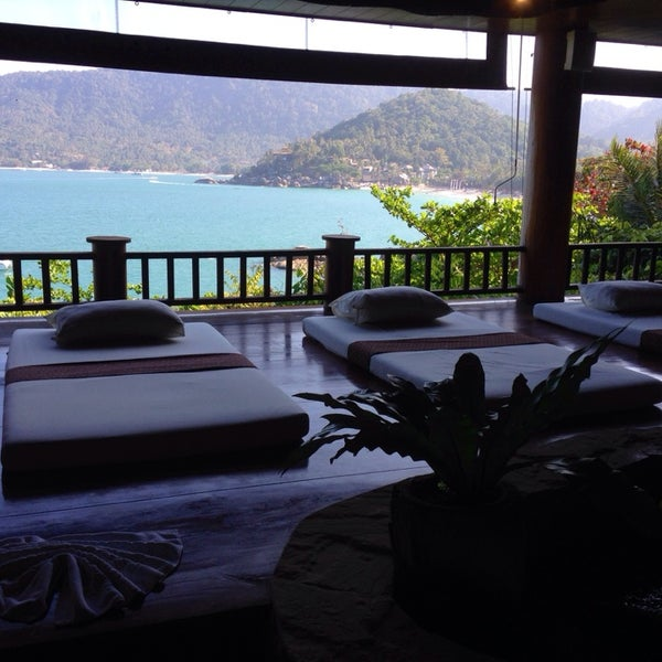 Photo taken at Santhiya Resort And Spa Koh Phangan by Sabrina A. on 3/3/2014
