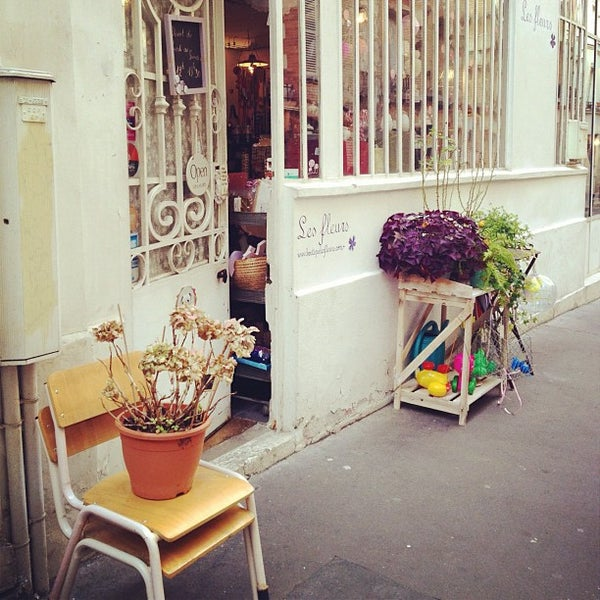 les fleurs charonne bastille 6 passage josset. Black Bedroom Furniture Sets. Home Design Ideas