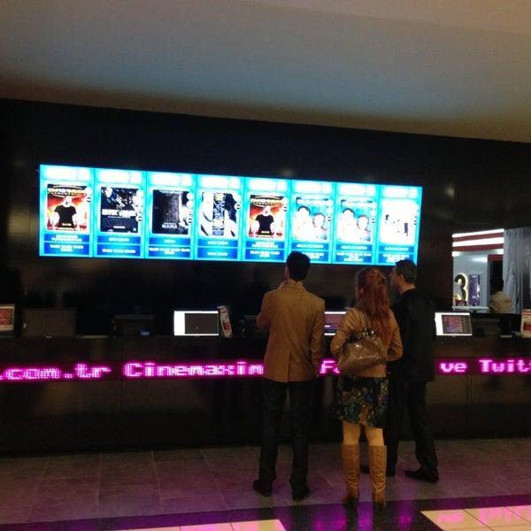 Photo taken at Cinemaximum by Önder A. on 1/28/2013