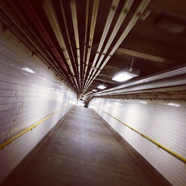 Photo taken at MTA Subway - York St (F) by alba on 1/15/2013