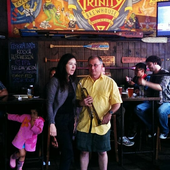 Photo taken at Trinity Brewhouse by Natalia R. on 7/25/2013