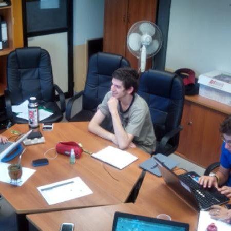 Foto tomada en Facultad de Psicología - Udelar por Paribanu F. el 3/12/2014